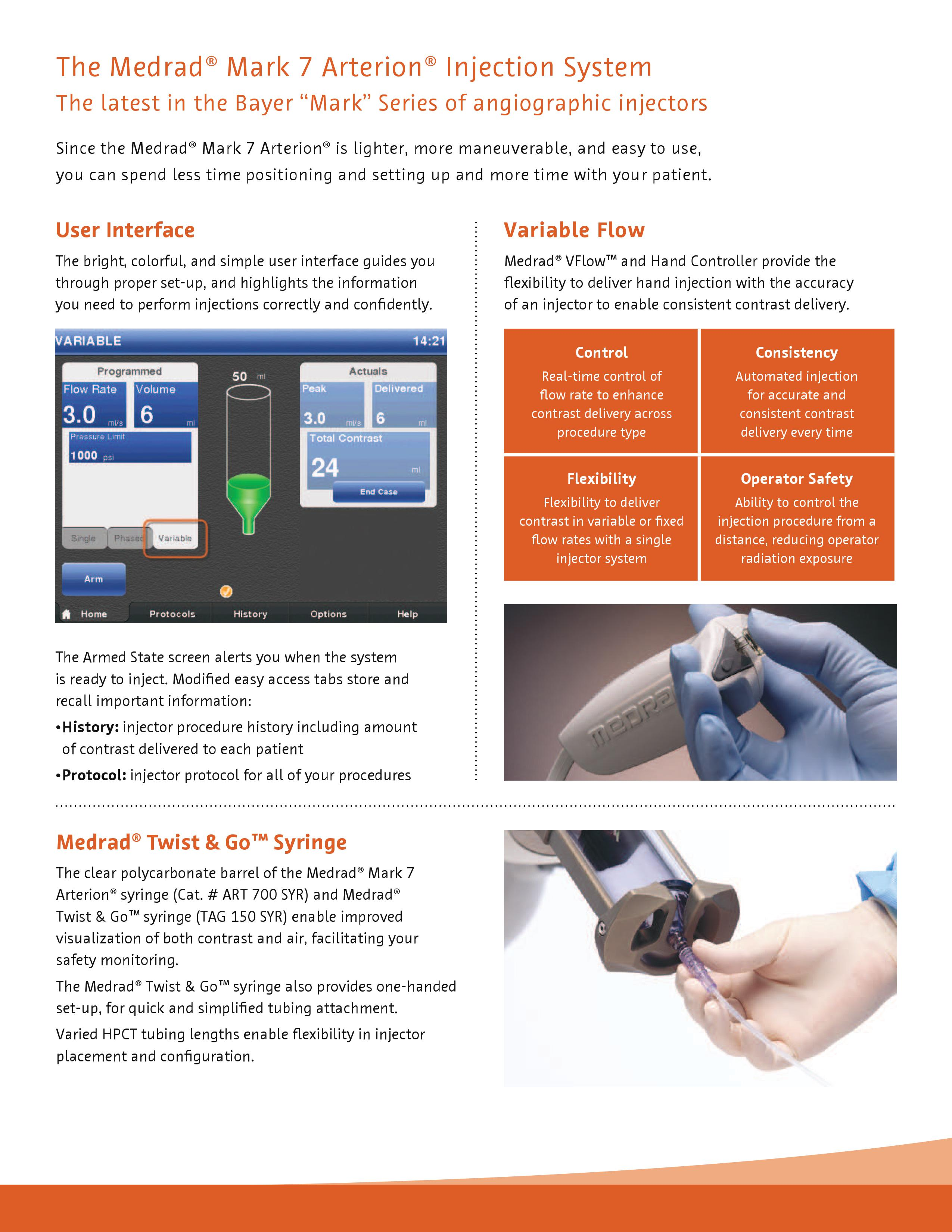 Medrad® Mark 7 Arterion® Injection System