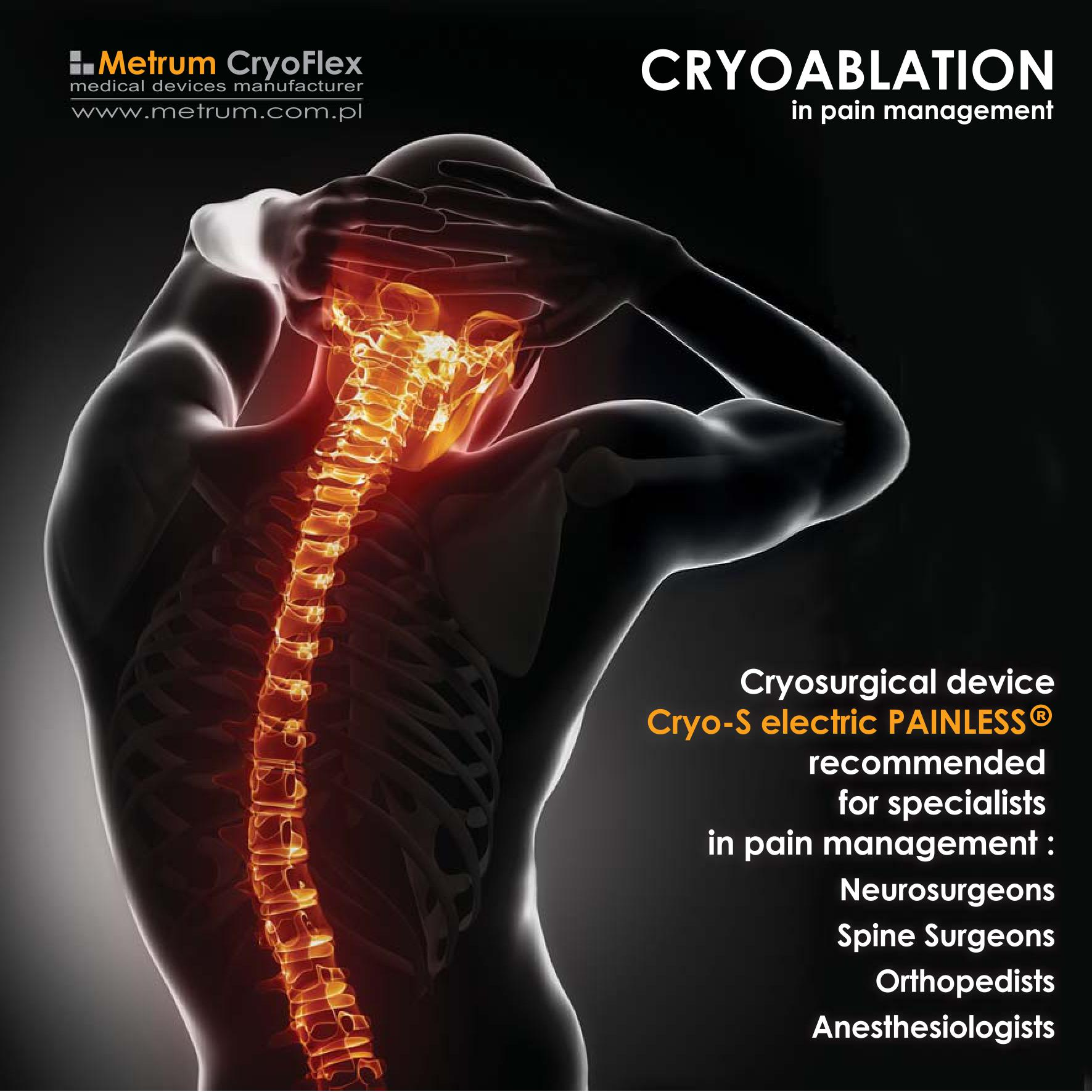 Metrum Cryoablation Pain Management
