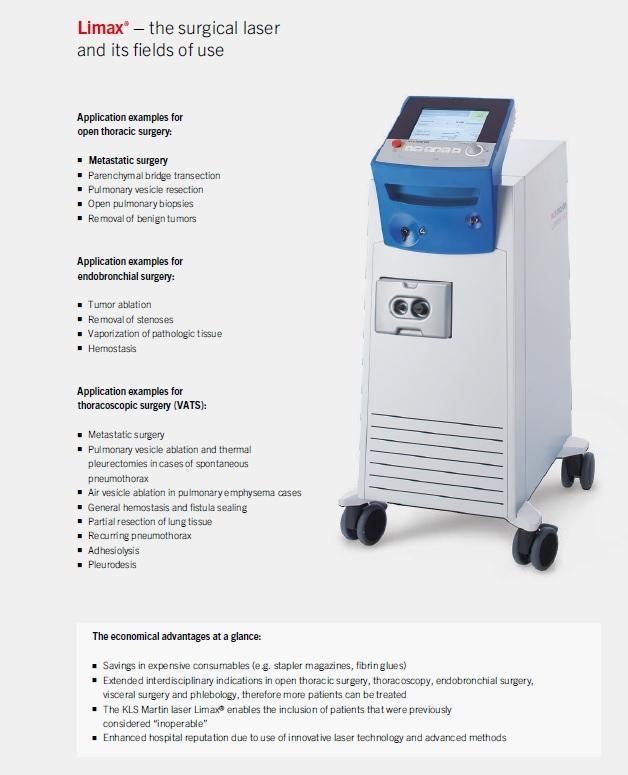 KLS Martin diode-pumped Nd:YAG Laser