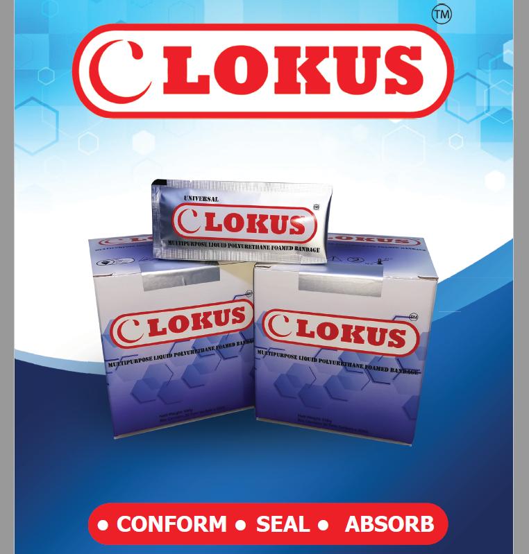 Lokus Multipurpose Liquid Polyurethane Foamed Bandage
