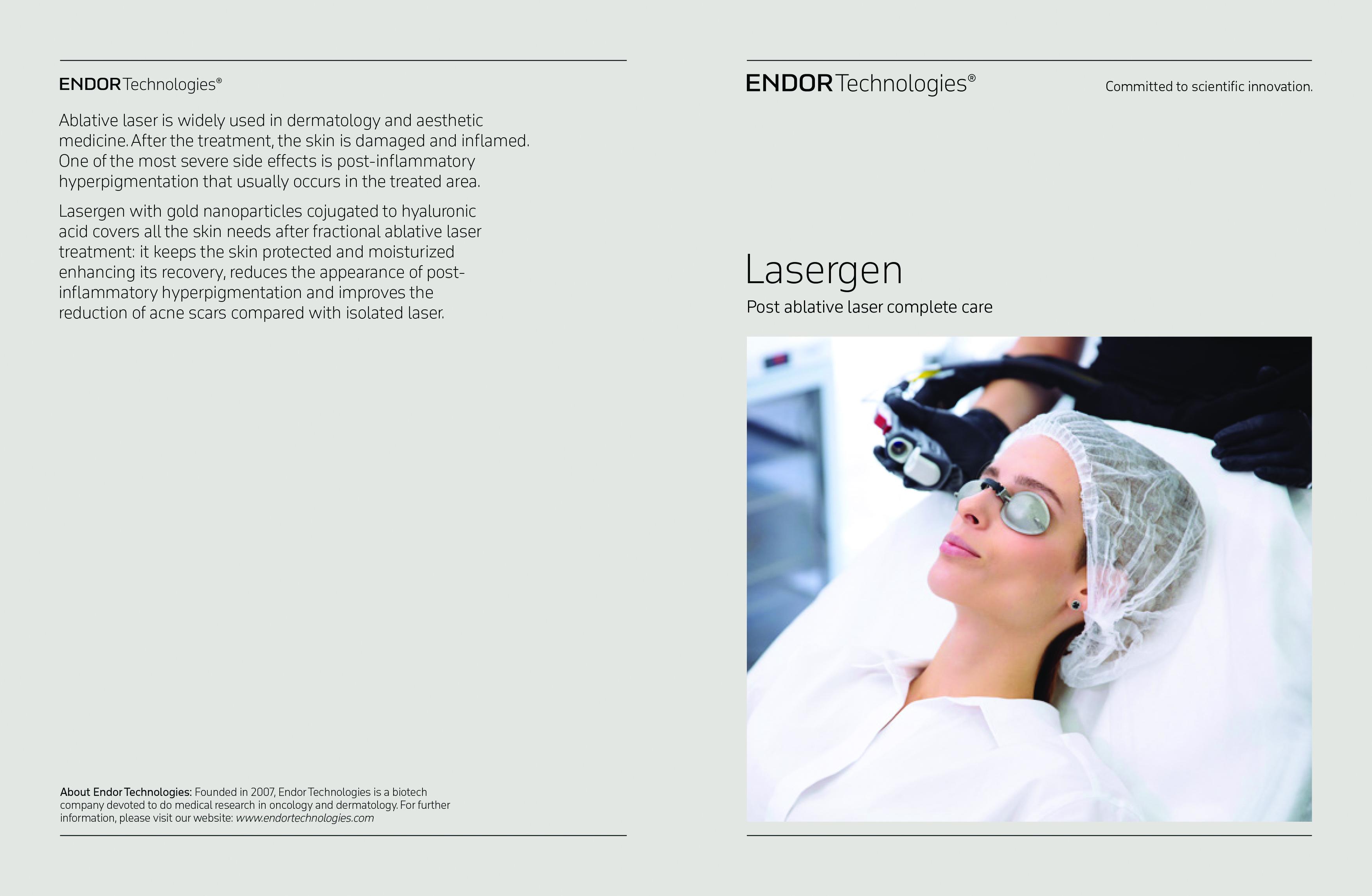 ENDOR Technologies Post Laser Lasergen