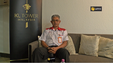 catTHIS exclusive interview with CEO of KL Tower Datuk Rozlan