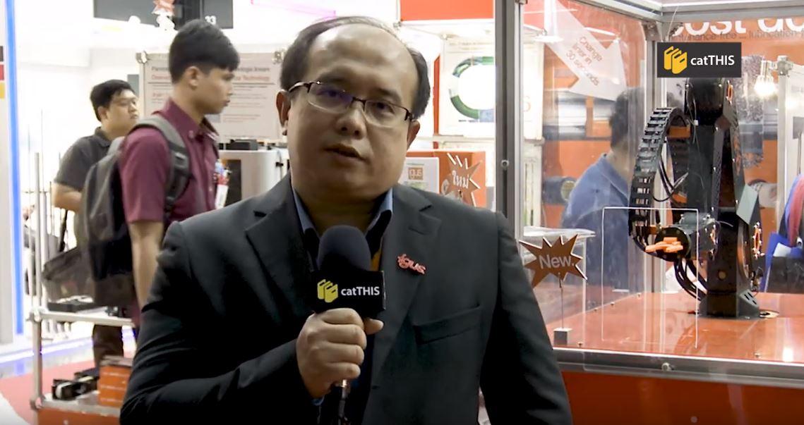 catTHIS Testimonial from Igus Thailand Sales Director Mr Narakorn Narangsiya