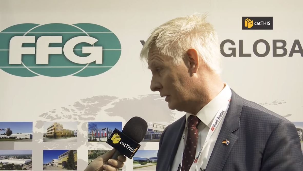 catTHIS Testimonial from FFG Europe & Americas MD & President Mr Gerald Mies