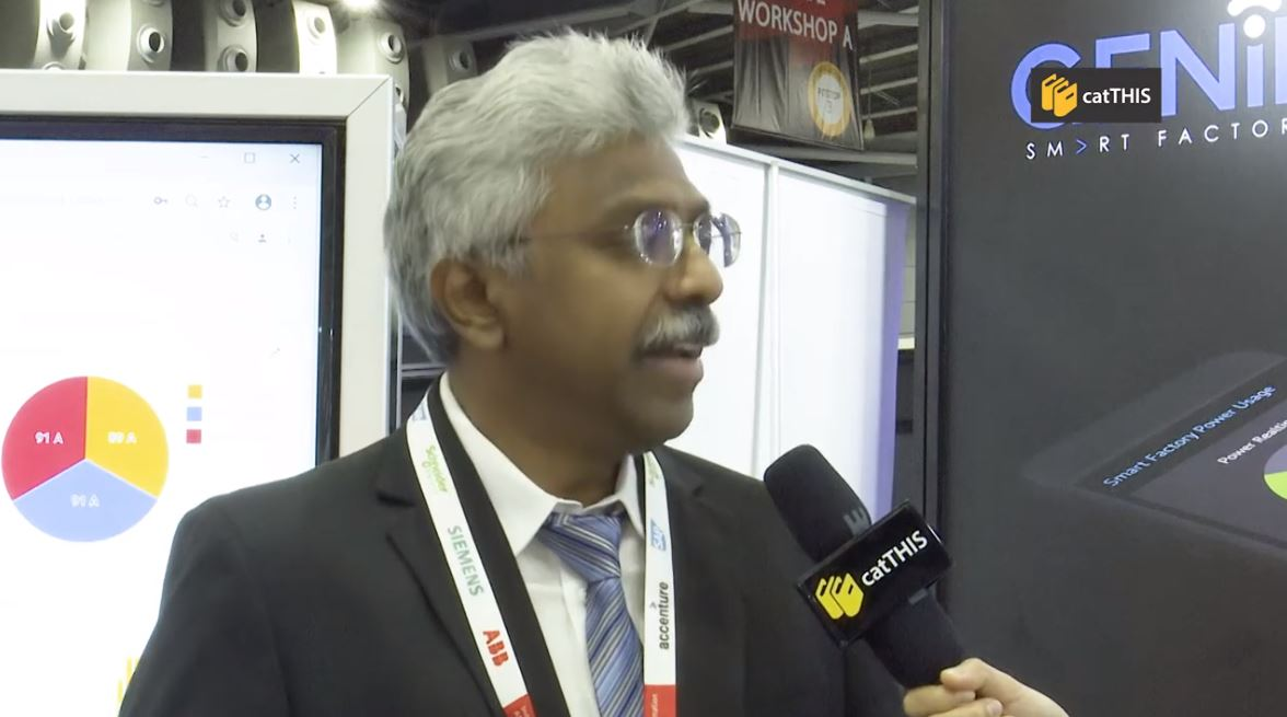 catTHIS Testimonial from Mr N Sakthivel, CEO of Galactic Advance Engineering