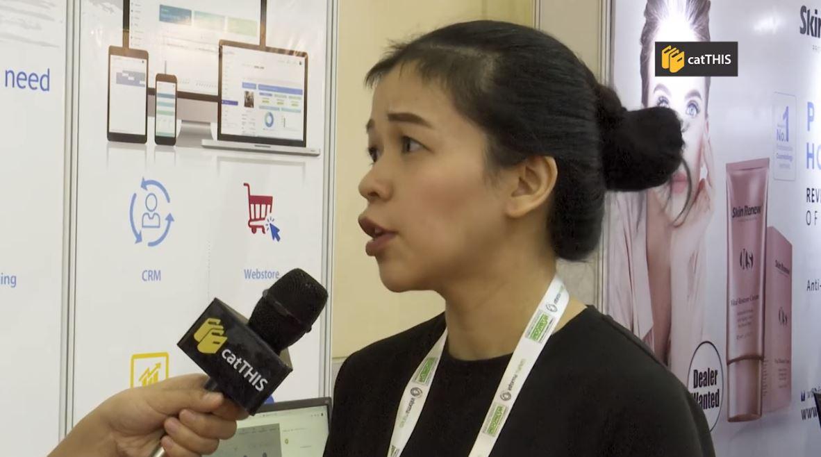 catTHIS Testimonial from Mrs Giovanni Winna Patricia, Sales Officer, PT Duta Infomedia Teknoindo