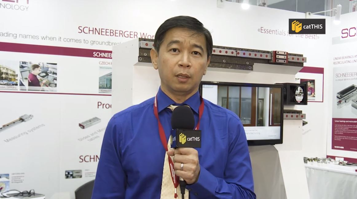 catTHIS Testimonial from SCHNEEBERGER General Manager, Mr Lee Wan Loong