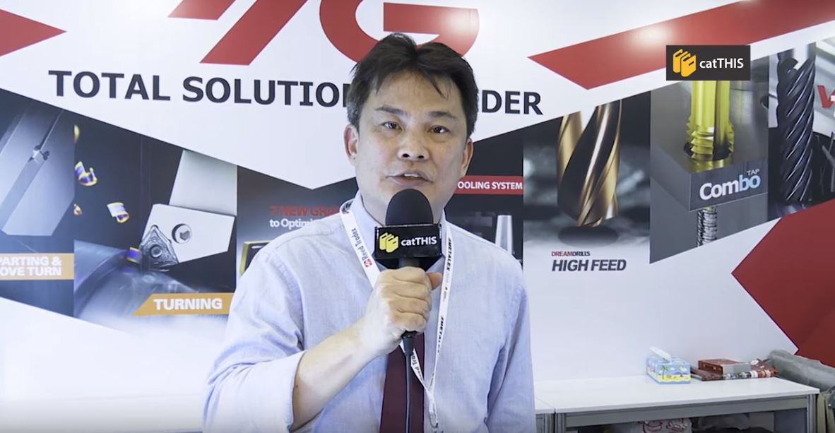 catTHIS Testimonial from YG-1 Tools Asia Director, Mr Michael Tan