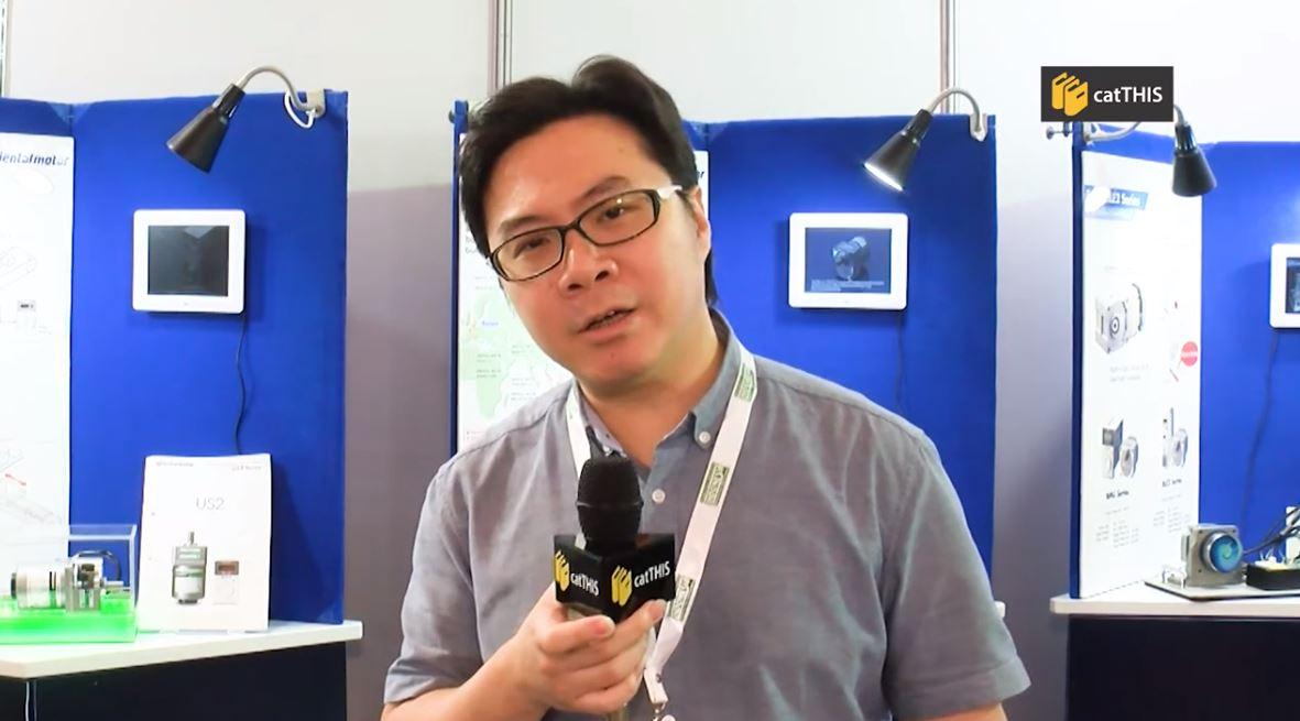 catTHIS Testimony from Oriental Motors APAC Senior Technical Marketing Exec., Mr Valent Chua