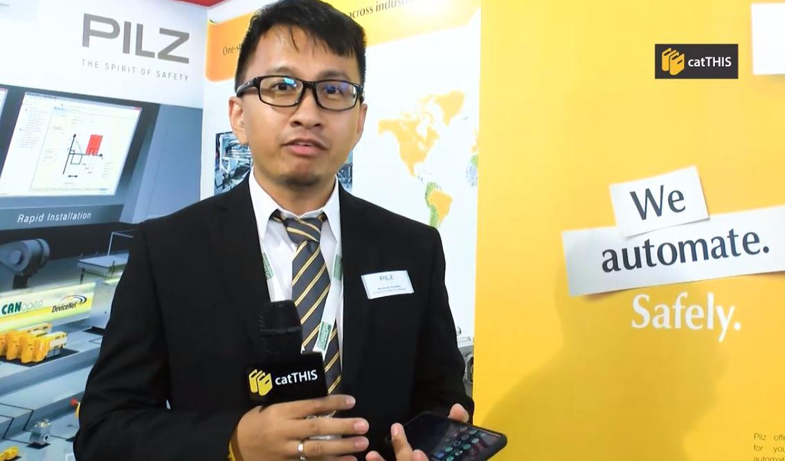 catTHIS Testimony from PILZ Biz Dev. Manager Mr Muhamad Romadhan