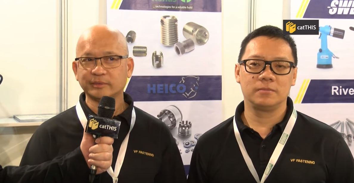 catTHIS Testimony from VS Fastening Systems Managing Director, Mr Vincent M. H. Fong