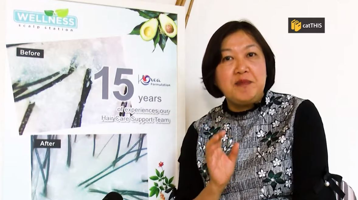 catTHIS Testimony from Wellness Scalp Station Director, Chermaine Teoh