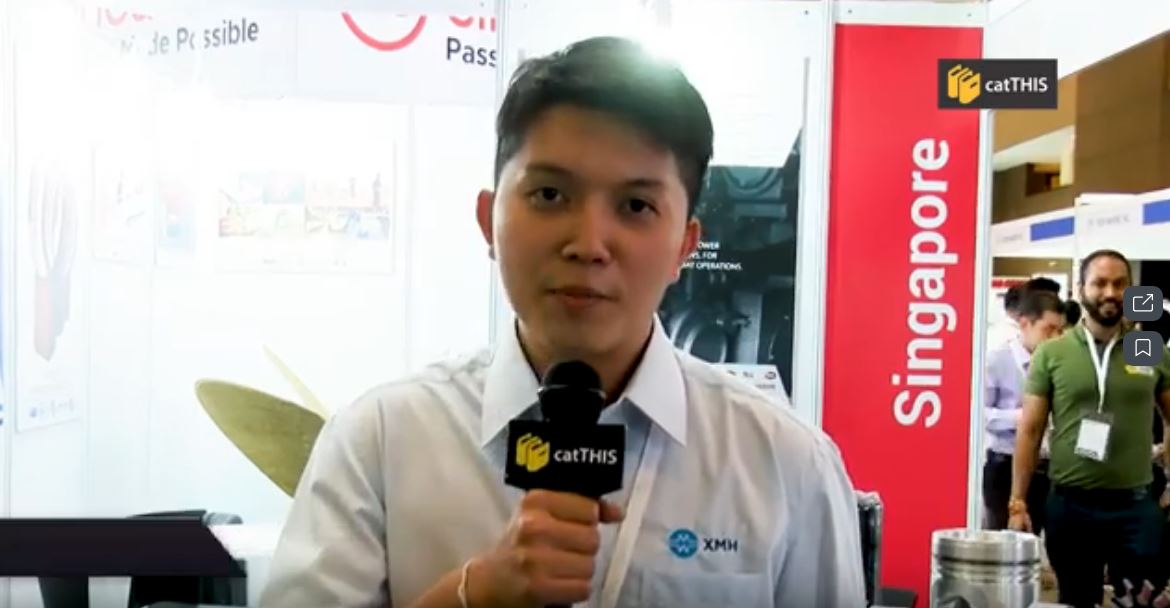 catTHIS Testimony from Xin Ming Hua Sales Manager Mr Lau Siang Long