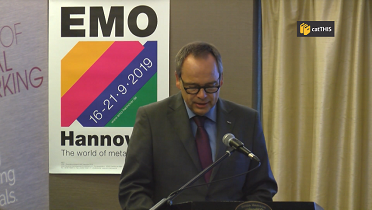 EMO Hannover Press Conferences Get Together event