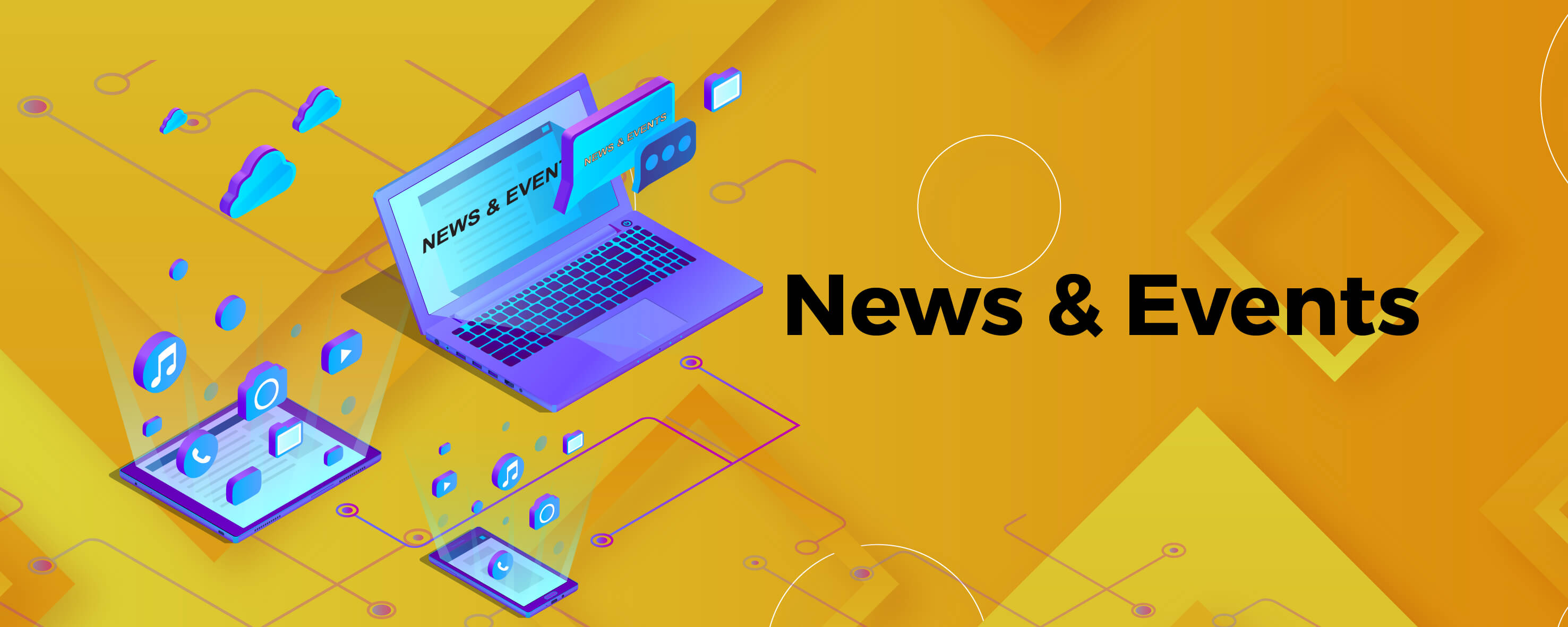 How to Get Your News and Event Announcement Across to Your Users?